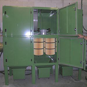 Filteranlagen ab 25 m³/min