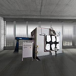 Roboterstrahlanlage