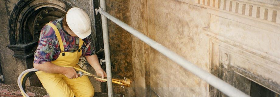 Sandstrahltechnik Restaurieren