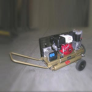 Fahrbarer Kompressor G800B