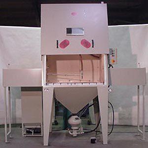 Intervall-Sofort-Strahlanlage Typ 1500 ISO