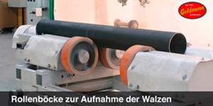 Video zur automatischen Walzenstrahlanlage