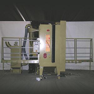Automatische Durchlaufstrahlanlage Typ KASM