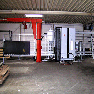 Vertikaldurchlaufanlage